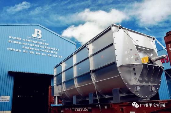 印尼KTM超大型螺旋机(MLS2600)混合输送设备项目圆满完工