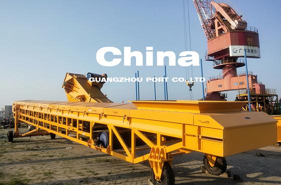 400TPH港口玉米小麦输送机