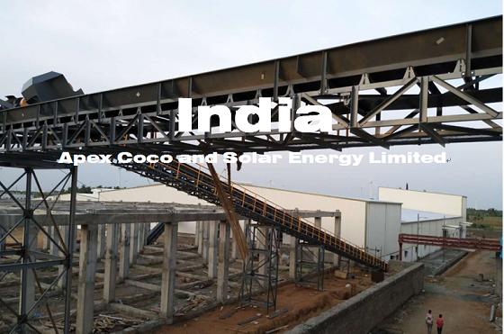 印度10TPH椰子加工生产线